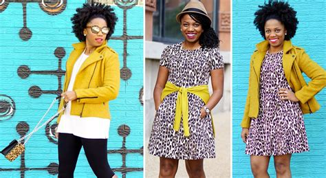 10 Ways To Wear Animal Graphics by Mustard And Leopard 3 Ways To Rock The Combination
