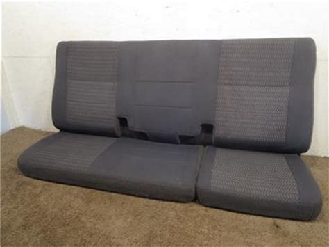 f150 bench seat replacement replacement ford f150 f 150 cloth rear back seat grey 1997