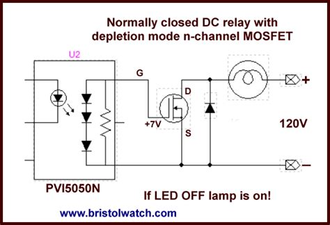 transistor switch relay driver mosfet dc relays using photovoltaic drivers
