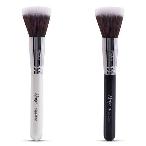 Duo Brush Makeup buy nanshy synthetic duo fibre stippling makeup brush
