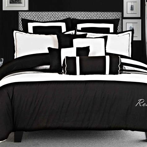 black and white bed linens luxton size black white quilt cover set 3pcs bedding