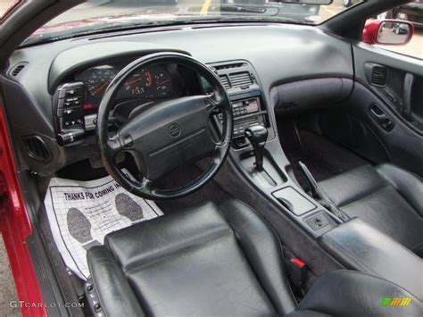 how does cars work 1993 nissan 300zx interior lighting 1993 cherry red pearl metallic nissan 300zx coupe 46318122 photo 5 gtcarlot com car color
