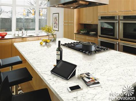 scottsdale galley kitchens remodel with formica granite formica 6696 46 carrara bianco marble my new top