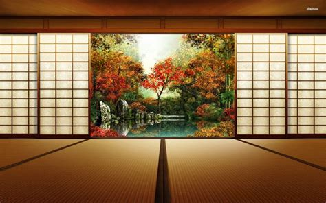 japanese room japanese art wallpapers wallpaper cave