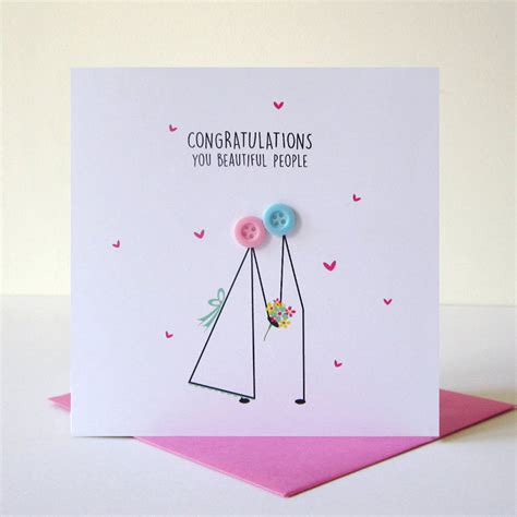 Wedding Card Congratulations by Wedding Congratulations Button Card By Mrs L Cards