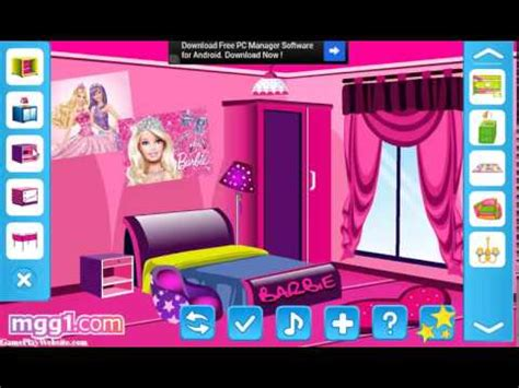 Barbie Room Game - barbie fun room decoration game नय ग म स ख लन spielen online spiele baby and and games