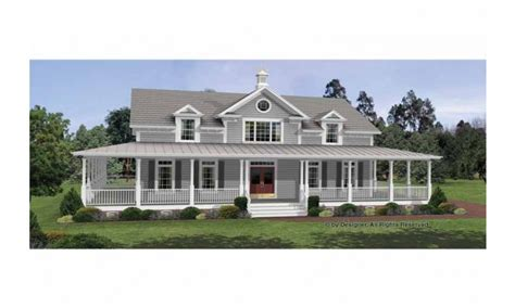 home plans with porch colonial house plans with wrap around porches country