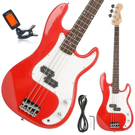 Tuner Gitar 4 new beginner 4 string electric bass guitar with