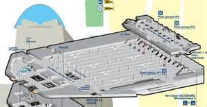 plan niveau 2 gare montparnasse