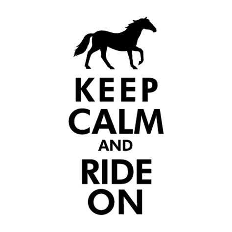 keep on riding on and on house music keep calm ride on wall quotes decal wallquotes com