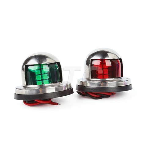 boat navigation lights set 12v marine boat yacht light stainless steel led bow