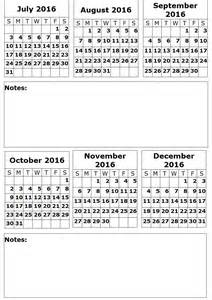 six month calendar template six month printable 2016 calendar calendar template 2016