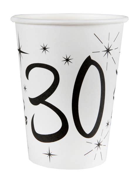 bicchieri bianchi 10 bicchieri bianchi 30 anni su vegaooparty negozio di