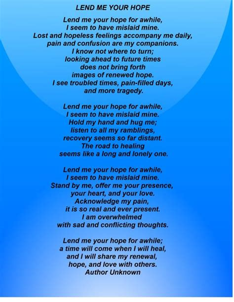Prayer To Comfort Someone by Remember These Words When A Friend Or Loved One Is