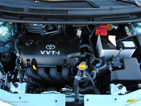 2008 Toyota Yaris Engine 2010 Toyota Yaris Sedan 1 5 Liter Dohc 16 Valve Vvt I 4