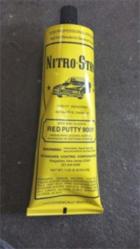nitro stan red putty 9001