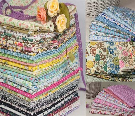 Patchwork And Craft - promotion 70 designs beautiful printing cotton fabric