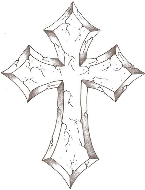 cross tattoo lines 35 best images about cross drawings on pinterest cross