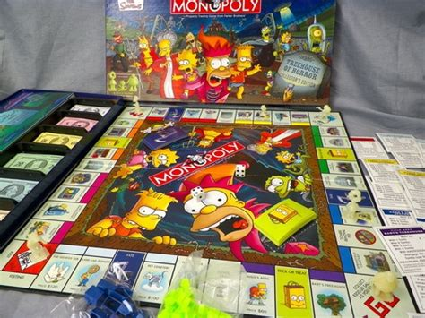 treehouse of horror monopoly the simpsons treehouse of horror monopoly collector s