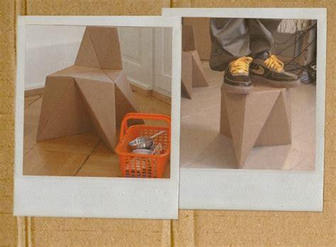Diy Cardboard Furniture by Foldschool Diy Cardboard Furniture Children S Furniture