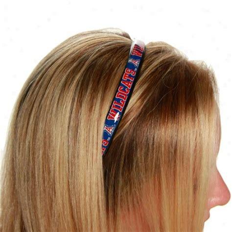 Dbl Logo Horizontal Headband Royal Blue wolverines shirt wolverines gold inferno sleeveless