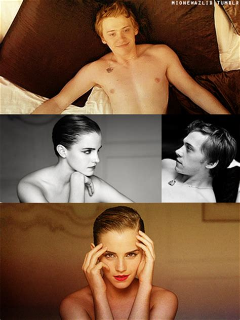 emma watson bathtub rupert grint and emma watson images fan art wallpaper and