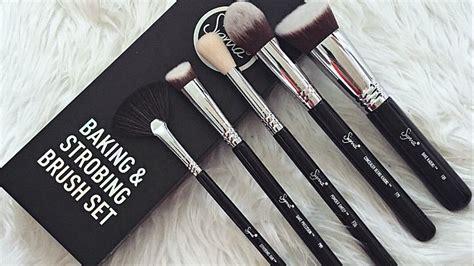Jual Sigma Brush Set sigma baking strobing brush set review demo makeupmejordyn