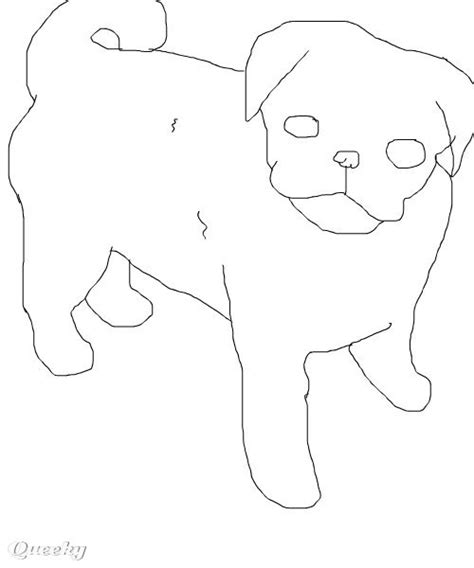 pug puggy how to draw pug