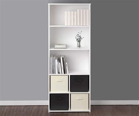 Buy A 5 Shelf White Cube Organizer At Big Lots For Less Big Lots Shelves