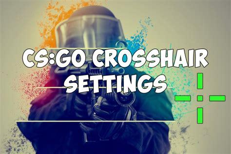 cs go crosshair color crosshair settings in cs go