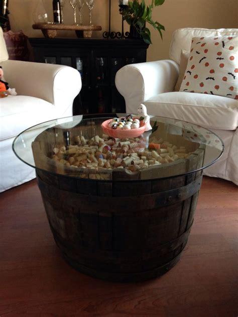 Wine Barrel Coffee Table Home Pinterest Dark We And How To Make A Wine Barrel Coffee Table