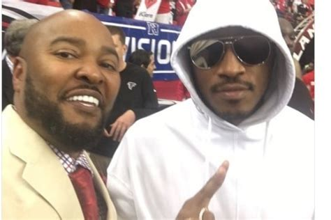 future, bow wow attend falcons playoff game vs. russell