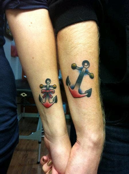 boyfriend and girlfriend matching tattoos matching tattoos for boyfriend and designs