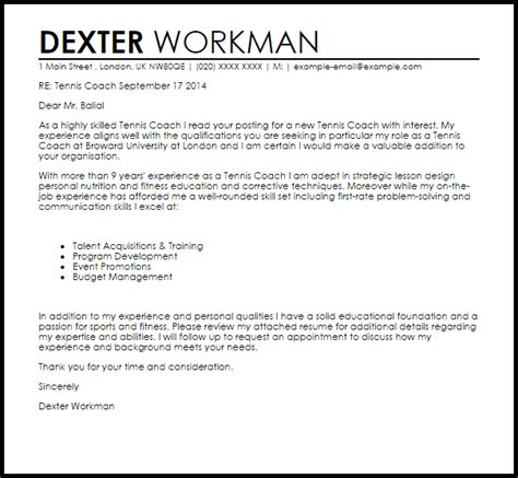 coaching cover letter create my cover letter cover