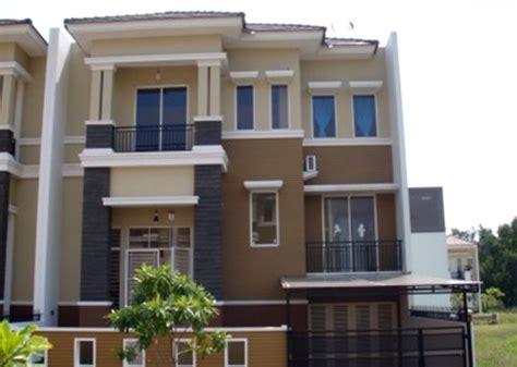 desain rumah  perpaduan warna cerah rumah impian