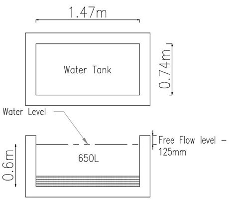 Small Water Tank Dimensions How To Calculate Rectangular Water Tank Size Capacity In