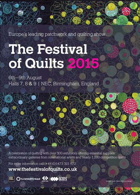 Festival Of Quilts Birmingham by What S Happening Patchwork Society The Festival