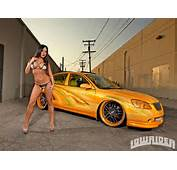 Lowrider Girl 00004  Carros Y Chicas Pinterest