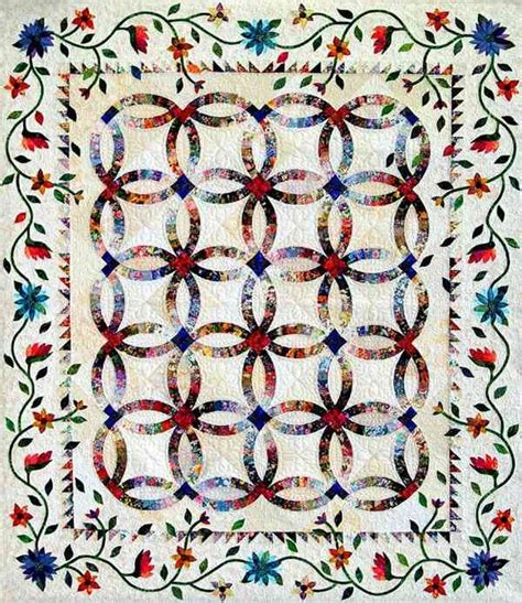 Wedding Rings Quilt by Wedding Ring Quilting