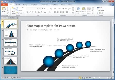 powerpoint roadmap template free best project management templates for powerpoint