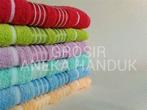Hijau Mint Cotton Ready Stock jual handuk merah putih 70 x 140 by terry palmer grosir