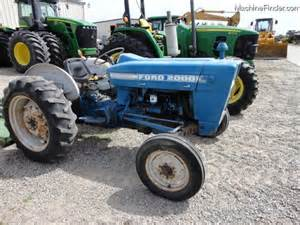 2000 Ford Tractor Ford 2000 Tractors Utility 40 100hp Deere