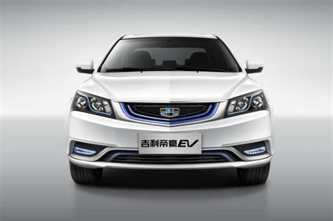 geely emgrand geely emgrand ev electric car driven by