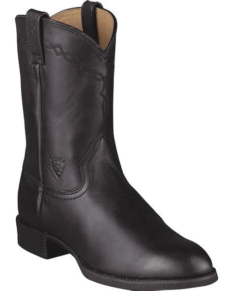 mens farm boots ariat s heritage roper cowboy boot 10002284 ebay