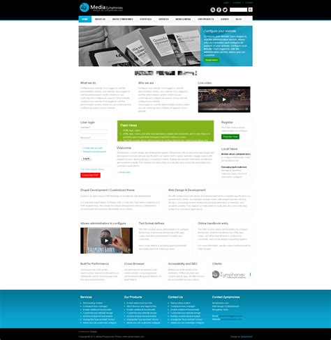 drupal theme not showing up in appearance media responsive theme drupal org