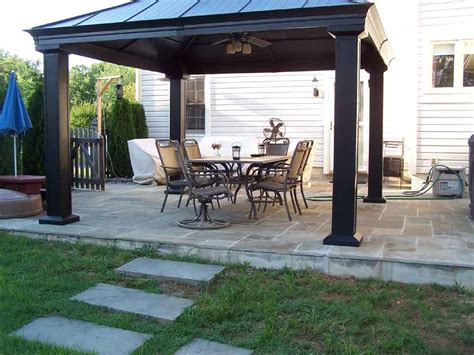 Gazebo On Patio Professional Work Silver Md Phone 240 644 4706 We Build Outdoor Structures