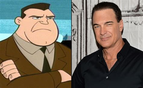 patrick warburton kim possible kim possible voices see the stars behind your favorite