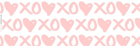 youtube layout tumblr xoxo hearts twitter header love wallpapers