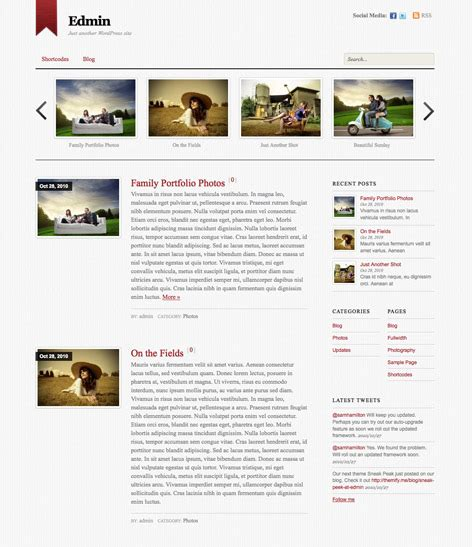 theme blog simple 50 excellent wordpress magazine theme of 2013 frip in