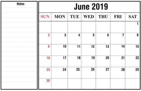 printable june  calendar  holidays  word